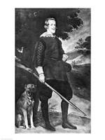 Portrait of Philip IV Fine Art Print