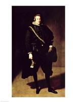 Portrait of Infante Don Carlos Fine Art Print