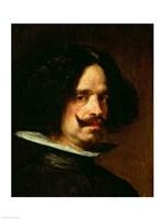 Self Portrait (profile) Fine Art Print