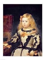 Portrait of the Infanta Maria Marguerita by Diego Velazquez - various sizes