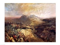 The Crusaders Before Jerusalem Fine Art Print