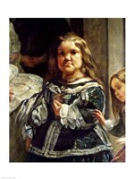 Las Meninas or The Family of Philip IV, Detail Right, 1656 by Diego Velazquez, 1656 - various sizes