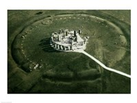 Stonehenge from the air - various sizes