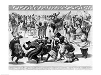Poster Advertising, 'The Barnum and Bailey Greatest Show on Earth - various sizes