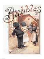 Poster advertising 'Bubbles' magazine - various sizes