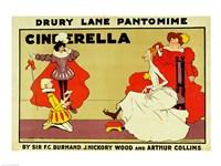 Poster for 'Cinderella' Fine Art Print