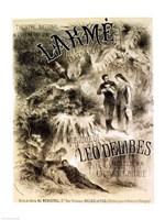 Poster advertising 'Lakme', Opera - various sizes