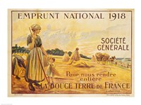 Poster for the Loan for National Defence from the Societe Generale, 1918, 1918 - various sizes