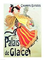 'Ice Palace', Champs Elysees, Paris, 1893 Fine Art Print