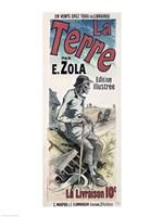 Poster advertising 'La Terre', 1889 Fine Art Print