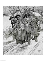 Arresting a Witch by Howard Pyle - various sizes, FulcrumGallery.com brand