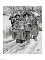 Arresting a Witch Fine Art Print