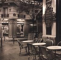 Café, Montmartre Fine Art Print