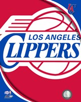 Los Angeles Clippers Team Logo Fine Art Print
