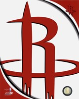 Houston Rockets Team Logo Fine Art Print