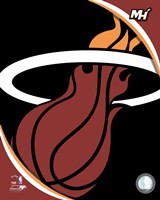 Miami Heat Team Logo Fine Art Print