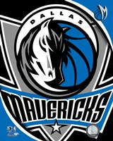 Dallas Mavericks Team Logo Fine Art Print