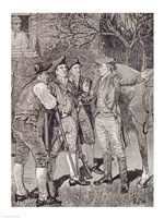 Paul Revere at Lexington Fine Art Print