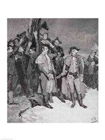Surrender of Fort William and Mary Fine Art Print
