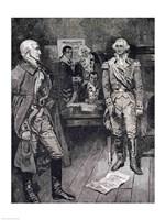 Washington Refusing a Dictatorship Fine Art Print