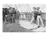 Impressment of American Seamen Fine Art Print
