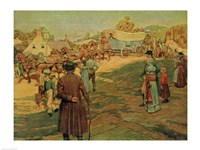 Carrying Powder to Perry at Lake Erie, 1911 Fine Art Print