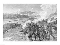 The Battle of Resaca, Georgia, May 14th 1864 Fine Art Print