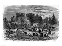 Blenker's Brigade Covering the Retreat Near Centreville, July 1861, 1861 - various sizes