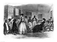 The Misses Cooke's schoolroom Fine Art Print