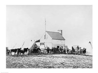 Headquarters of Sanitary Commission, Brandy Station, Virginia, 1863, 1863 - various sizes