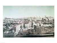 View of Utica City, New York State Fine Art Print