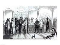 The Bar of a Gambling Saloon - various sizes