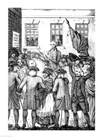 The Manner in which the American Colonists Declared Themselves Independent of the King, 1776, 1776 - various sizes