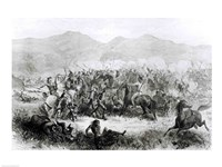 The Indian Battle and Massacre near Fort Philip Kearney - various sizes