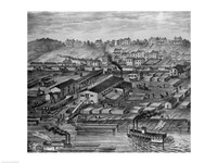 Soho Saw and Planing Mills and Barge Yards - various sizes