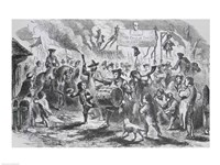 The Stamp Act Riots at Boston Fine Art Print