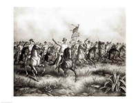 Rough Riders: Colonel Theodore Roosevelt Fine Art Print