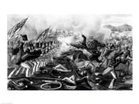 Battle of Churubusco Fine Art Print