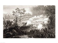The Battle at Pittsburg Landing - various sizes, FulcrumGallery.com brand
