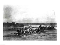 The Discovery of the Mississippi Fine Art Print