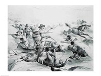 The Last Battle of General Custer - various sizes, FulcrumGallery.com brand