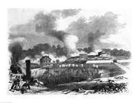 The Battle of Lexington Fine Art Print