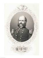 Major General Ambrose Everett Burnside - various sizes