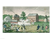 The Battle of Lexington Fine Art Print