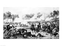 The Battle of the Wilderness Fine Art Print