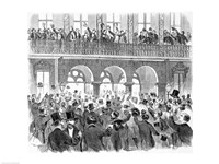 Secession Meeting in Front of the Mills House - various sizes