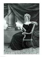 Mrs Rachel Jackson Fine Art Print