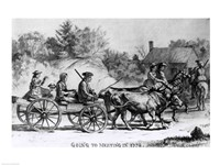 Going to Meeting in 1776 - various sizes