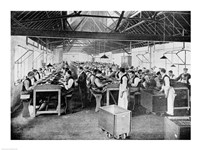 One of the cigar manufacturing departments at Messrs Salmon and Gluckstein's Ltd - various sizes, FulcrumGallery.com brand