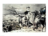 George Washington crossing the Delaware Fine Art Print